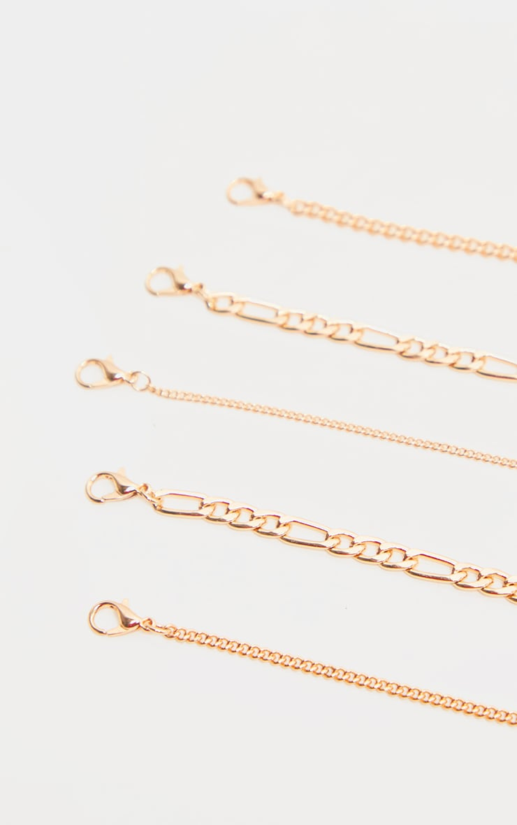 Gold Multi Layering Multi Charm Layering Necklace 5