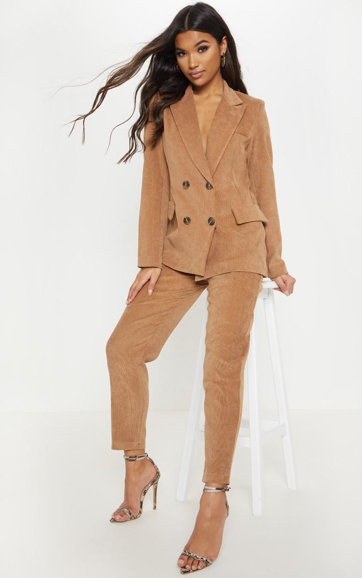 Camel Cord Trouser  1