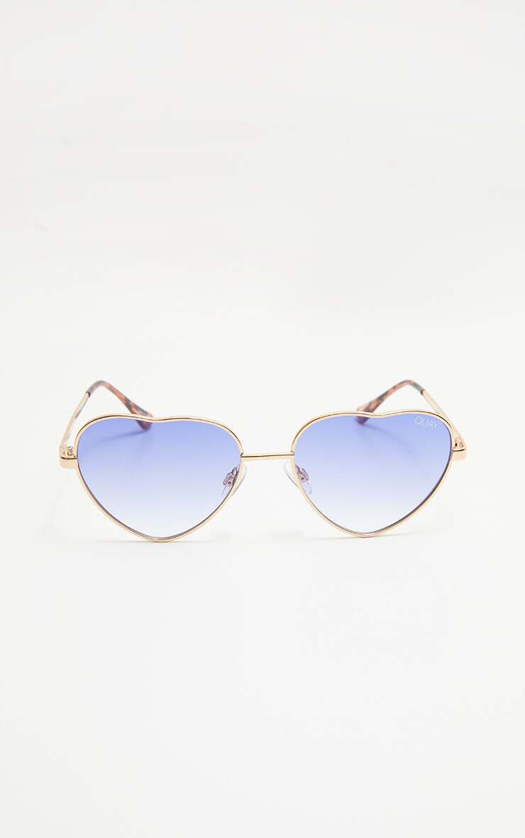QUAY AUSTRALIA Blue X Elle Ferguson  Collaboration Kim Sunglasses 3