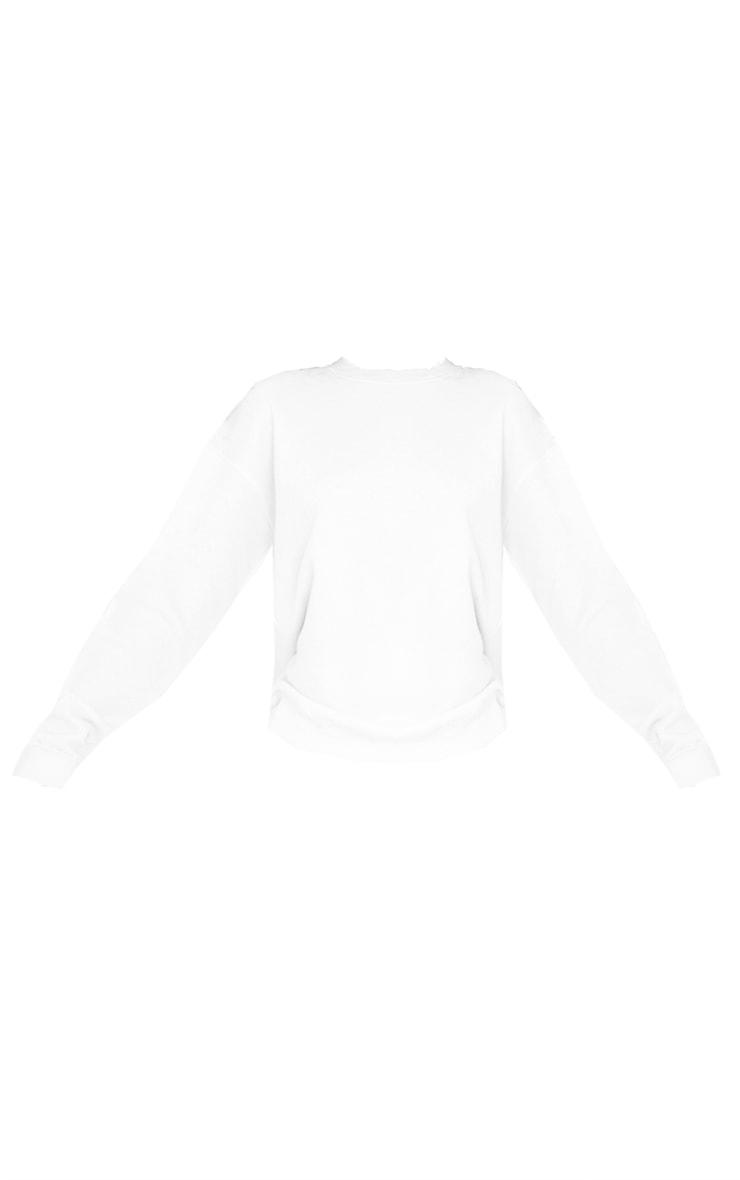 Tall White Ultimate Oversized Sweatshirt 5