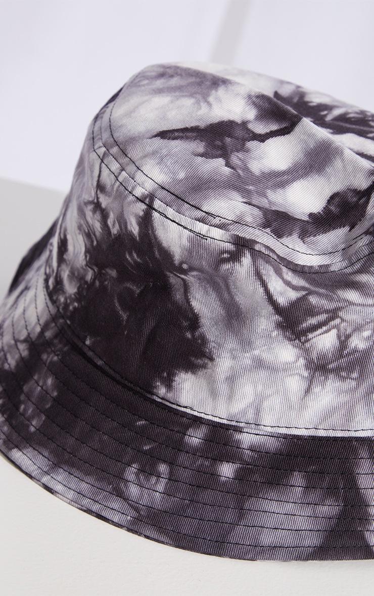 Grey Tie Dye Bucket Hat 3
