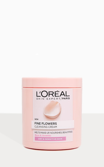 L'Oreal Paris Fine Flowers Cleansing Cream Makeup Remover 200ml
