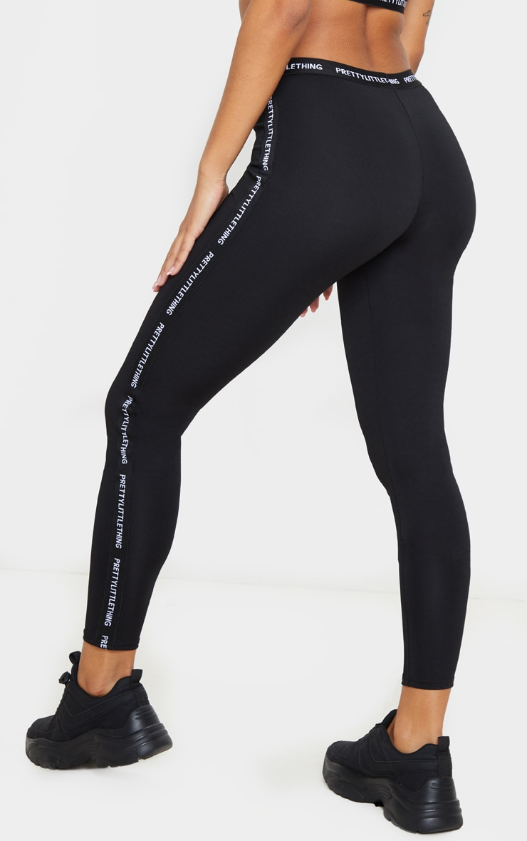 PRETTYLITTLETHING Black Gym Leggings 5