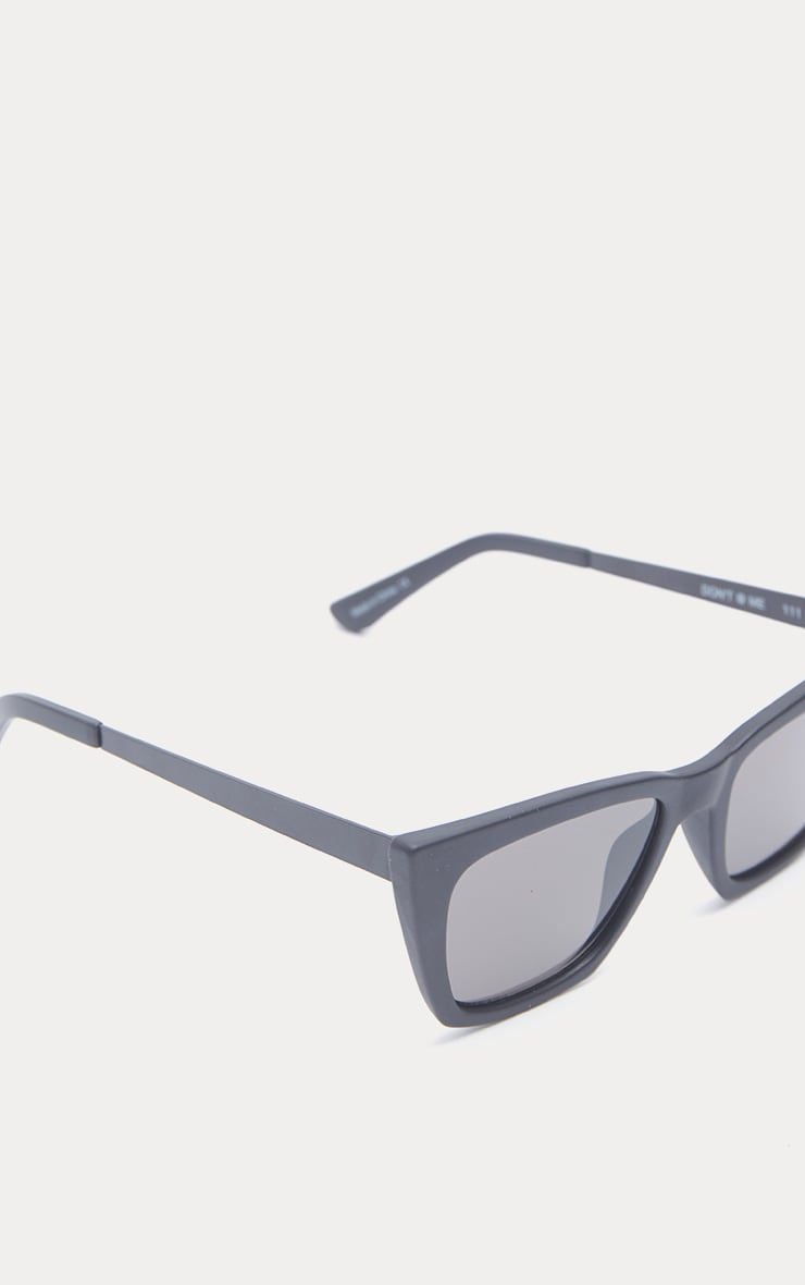 QUAY AUSTRALIA Black Dont At Me Square Sunglasses 2