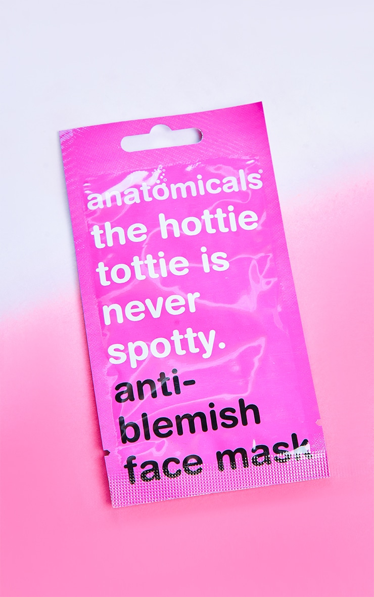 Anatomicals The Hottie Tottie Is Never Spotty Face Mask 3
