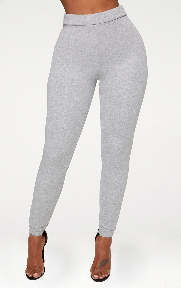 Shape Grey Elastic Bottom Joggers 2