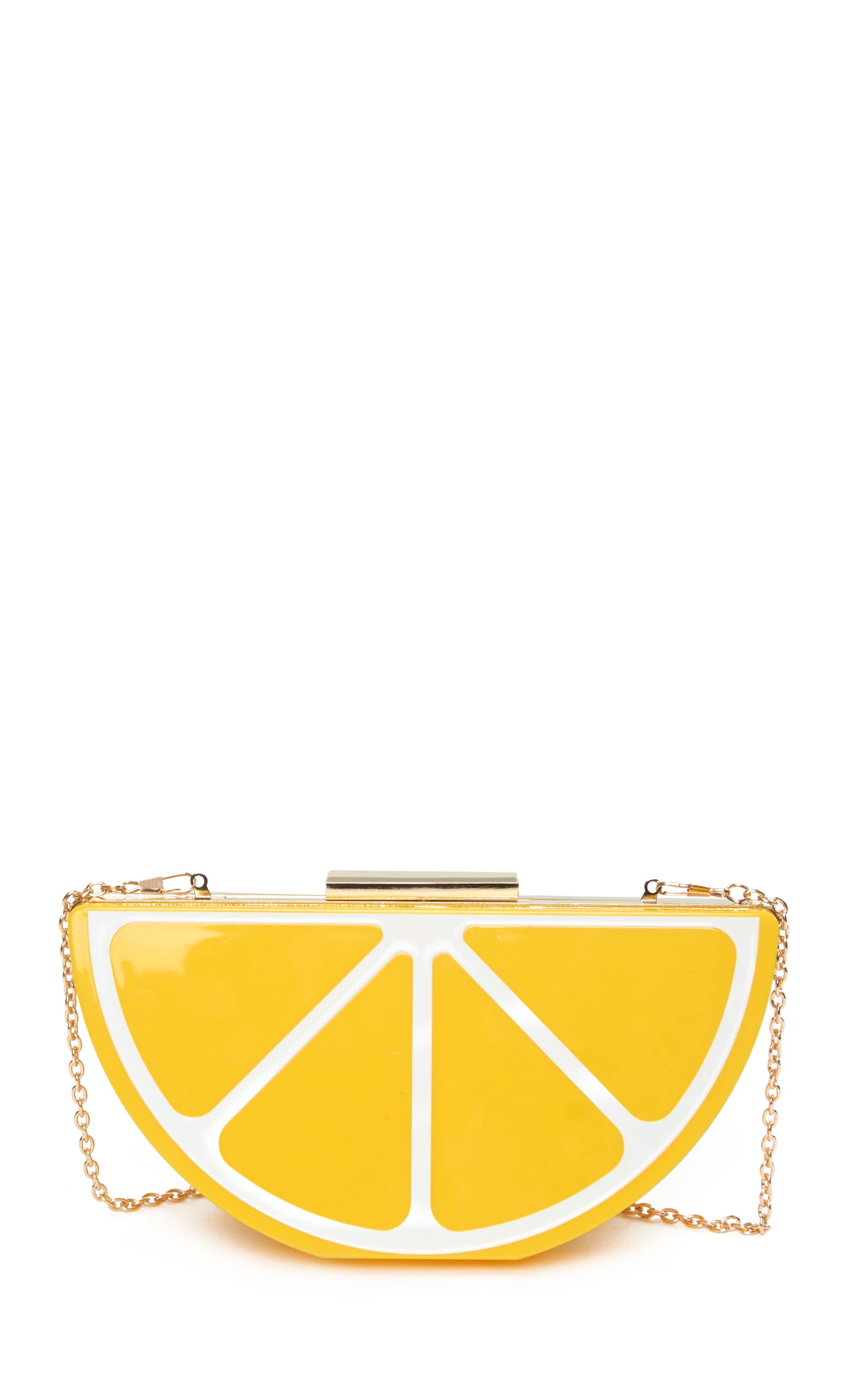 Lorian Lemon Clutch 4