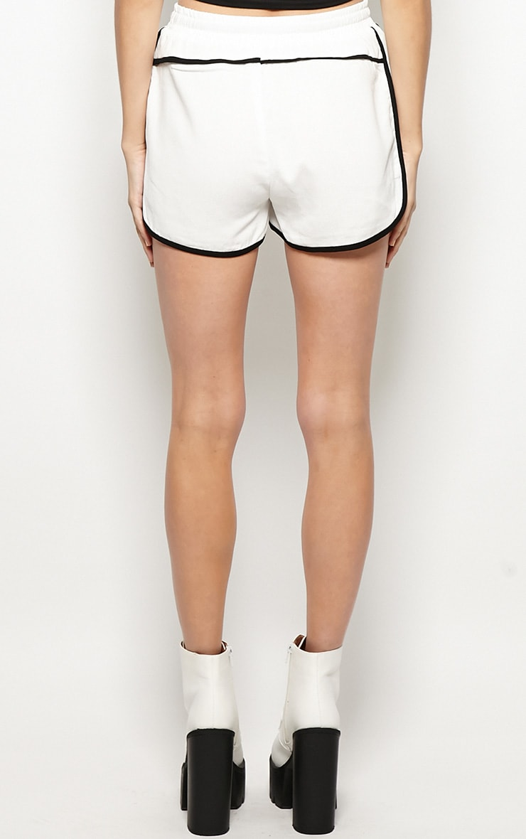 Libby White Runner Shorts 2