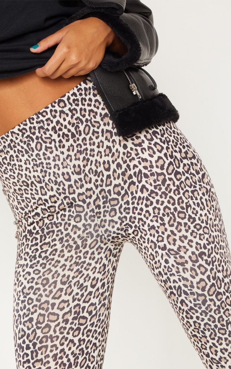 Leopard Print Soft Touch Legging 5