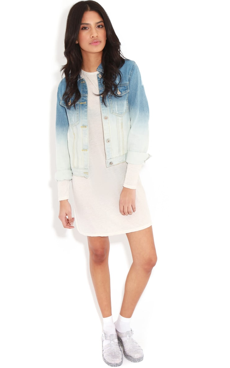 Rebecca Faded Denim Jacket 3