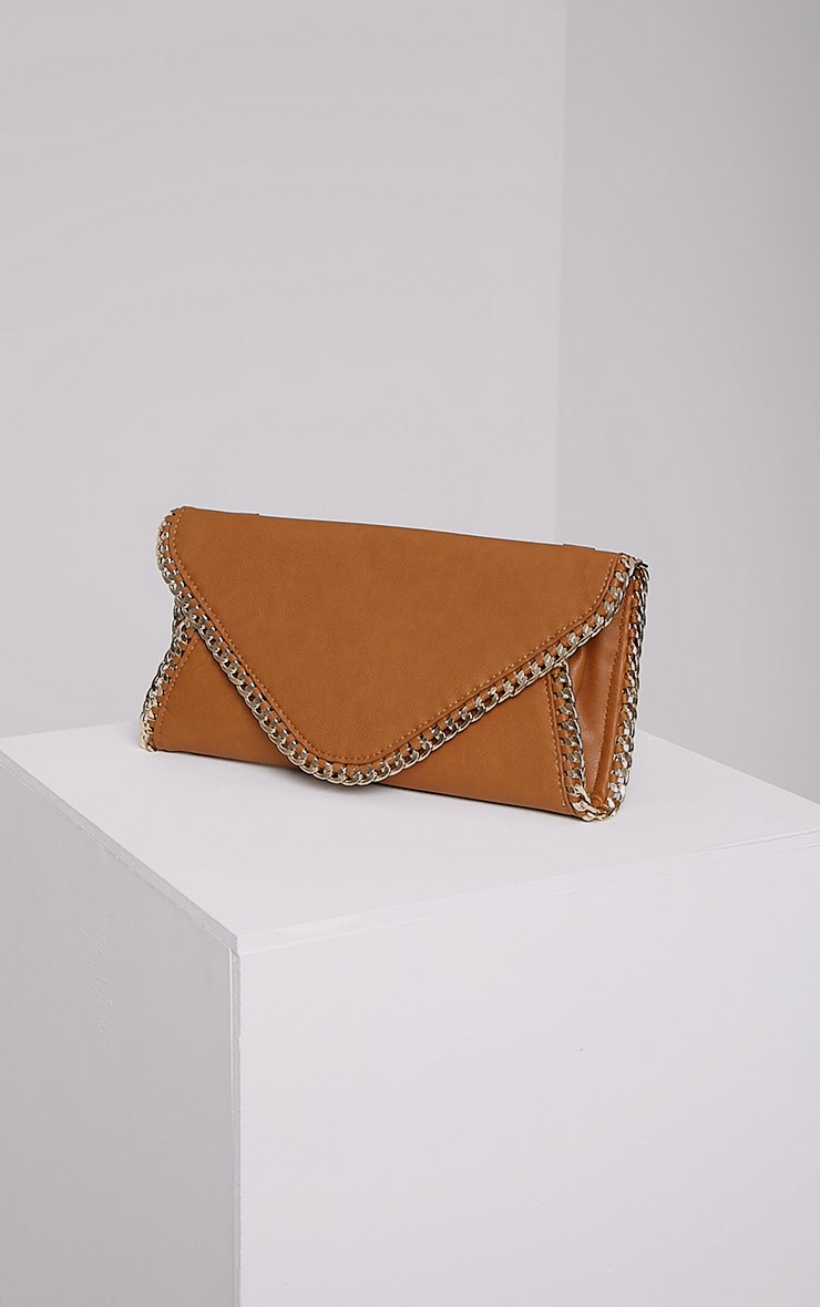 Theresa Tan Chain Envelope Clutch Bag 1