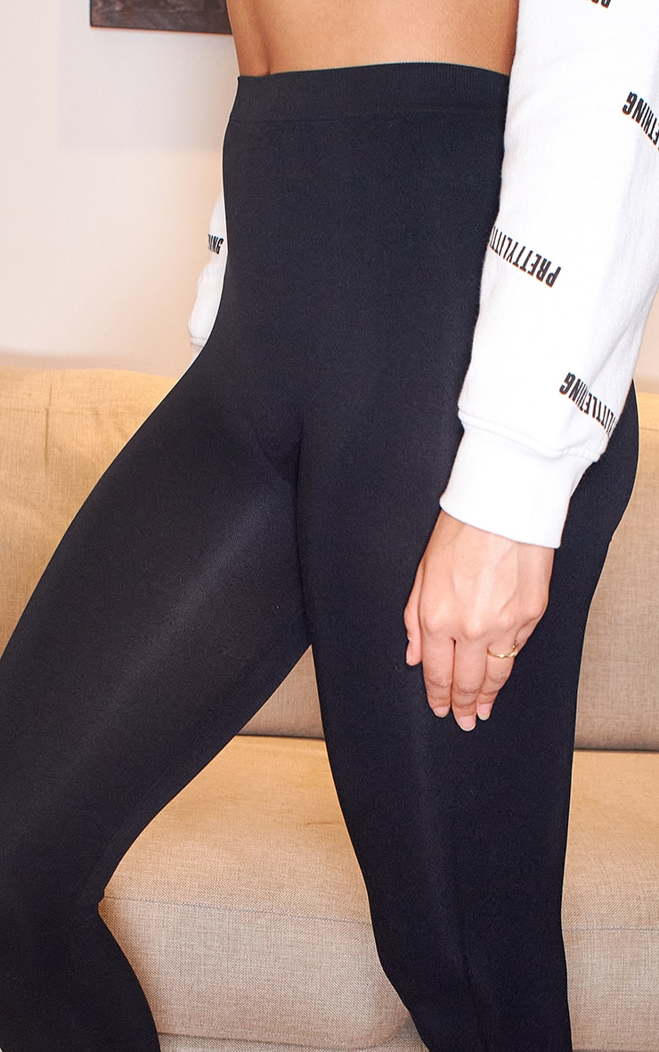 Black Seamless Leggings 4