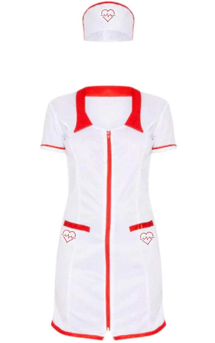 Sexy Nurse Halloween Fancy Dress Outfit 5