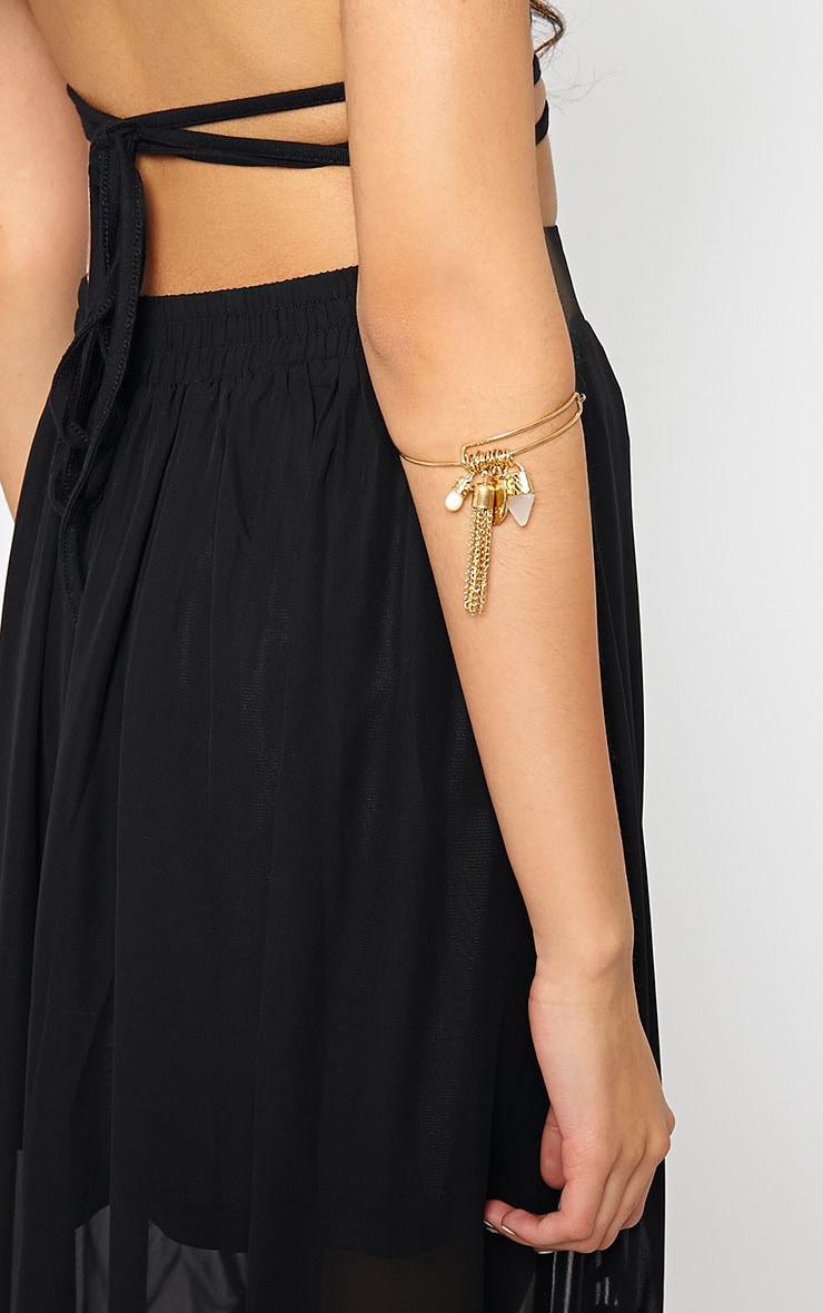 Winona Gold Multi Charm Bracelet 2