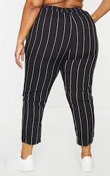 Plus Pin Stripe Casual Trousers 3