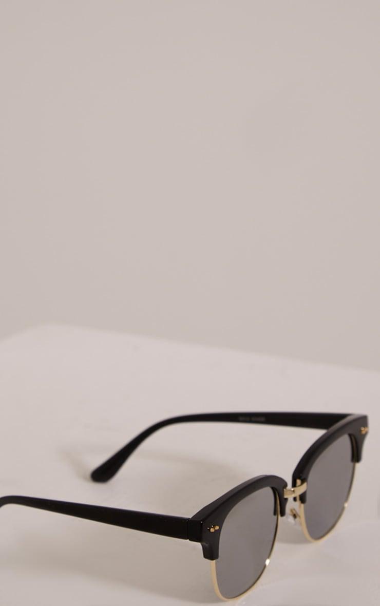 Kaisa Silver Lense Retro Sunglasses 5