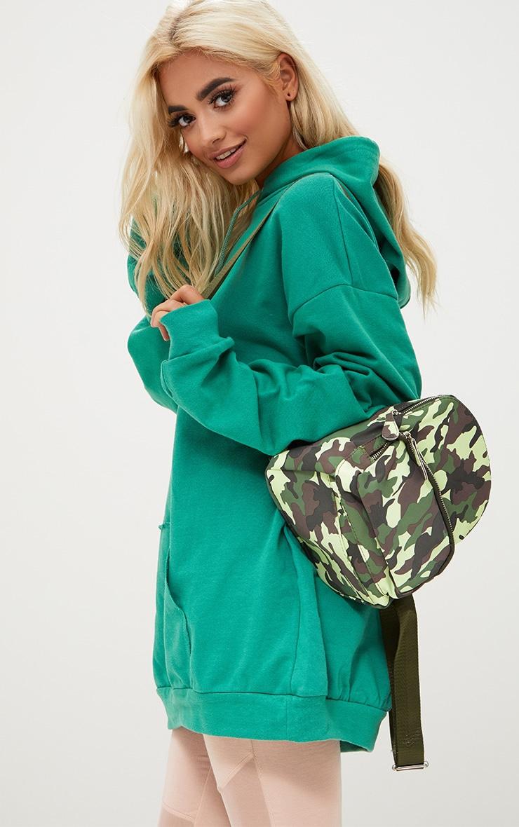 Green Camo Mini Backpack 3