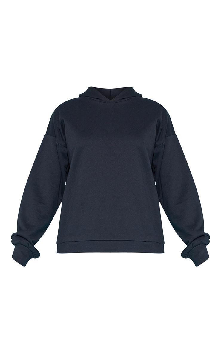PLT Recycle - Hoodie noir oversize 3