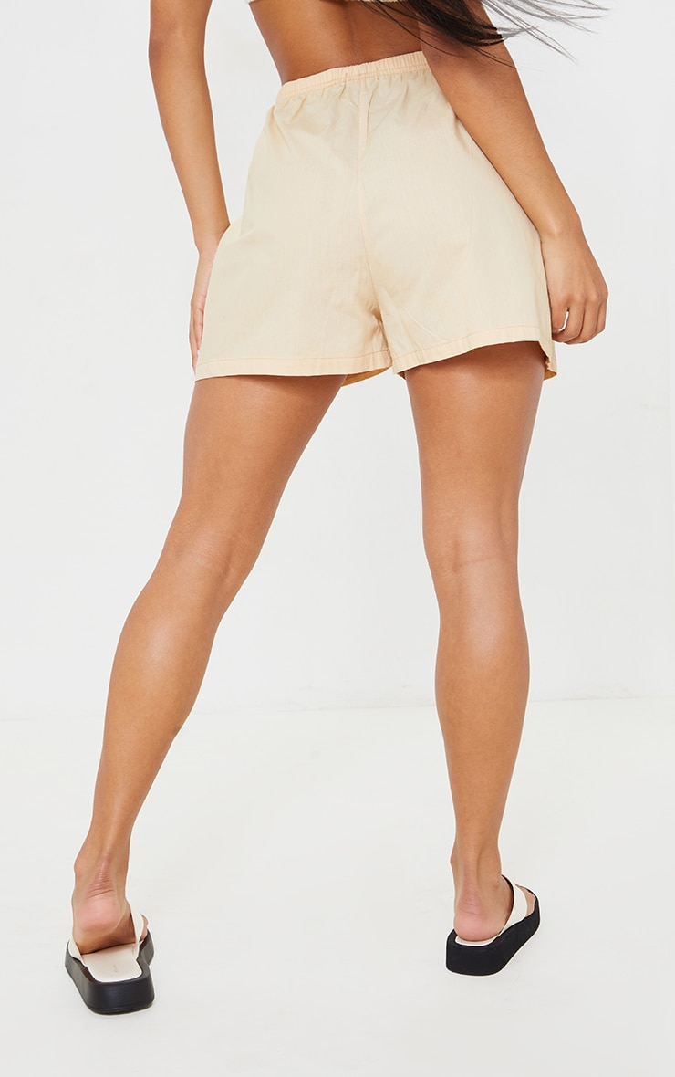 Stone Cotton Boxer Shorts 3