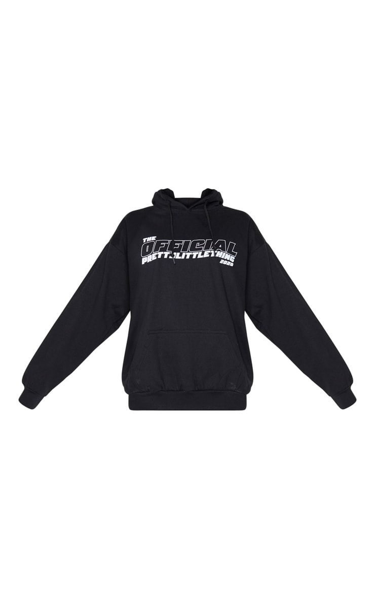 PRETTYLITTLETHING Black The Official 2020 Hoodie 3
