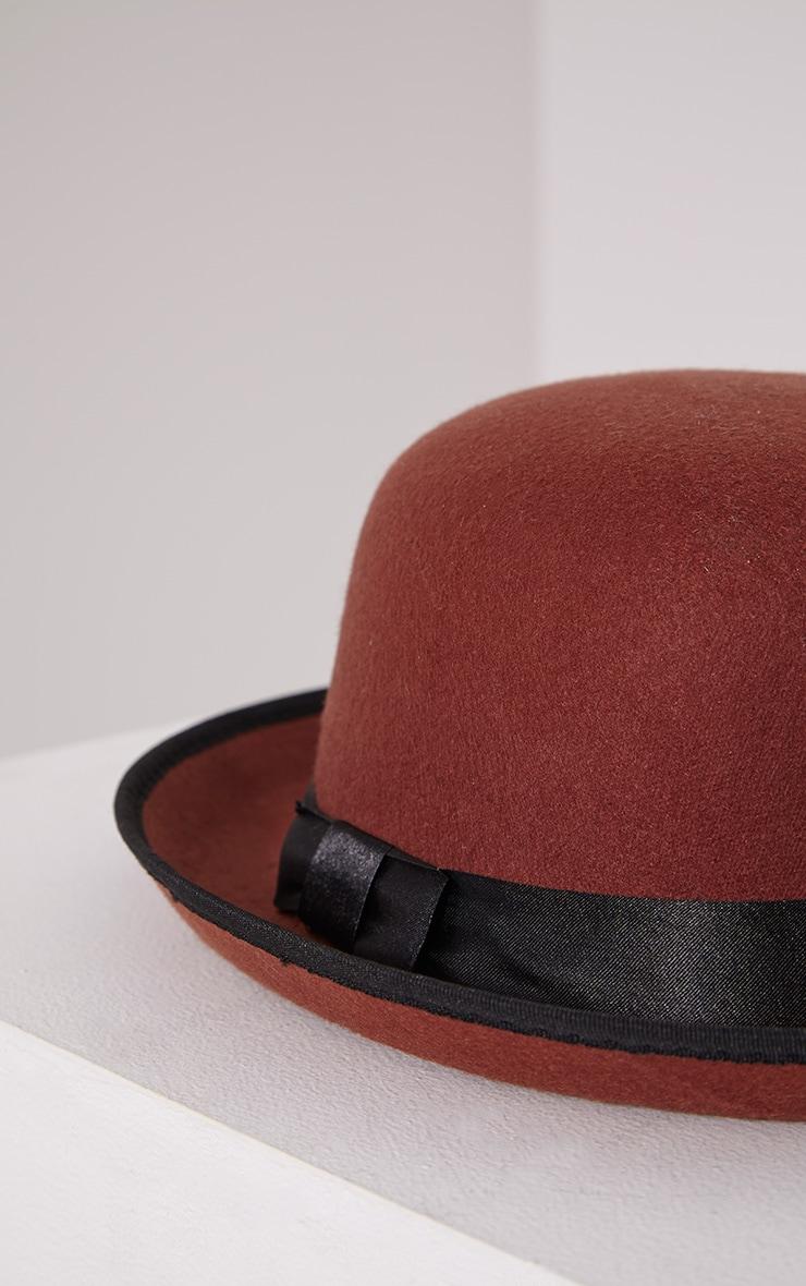Albo Rust Bowler Hat 4
