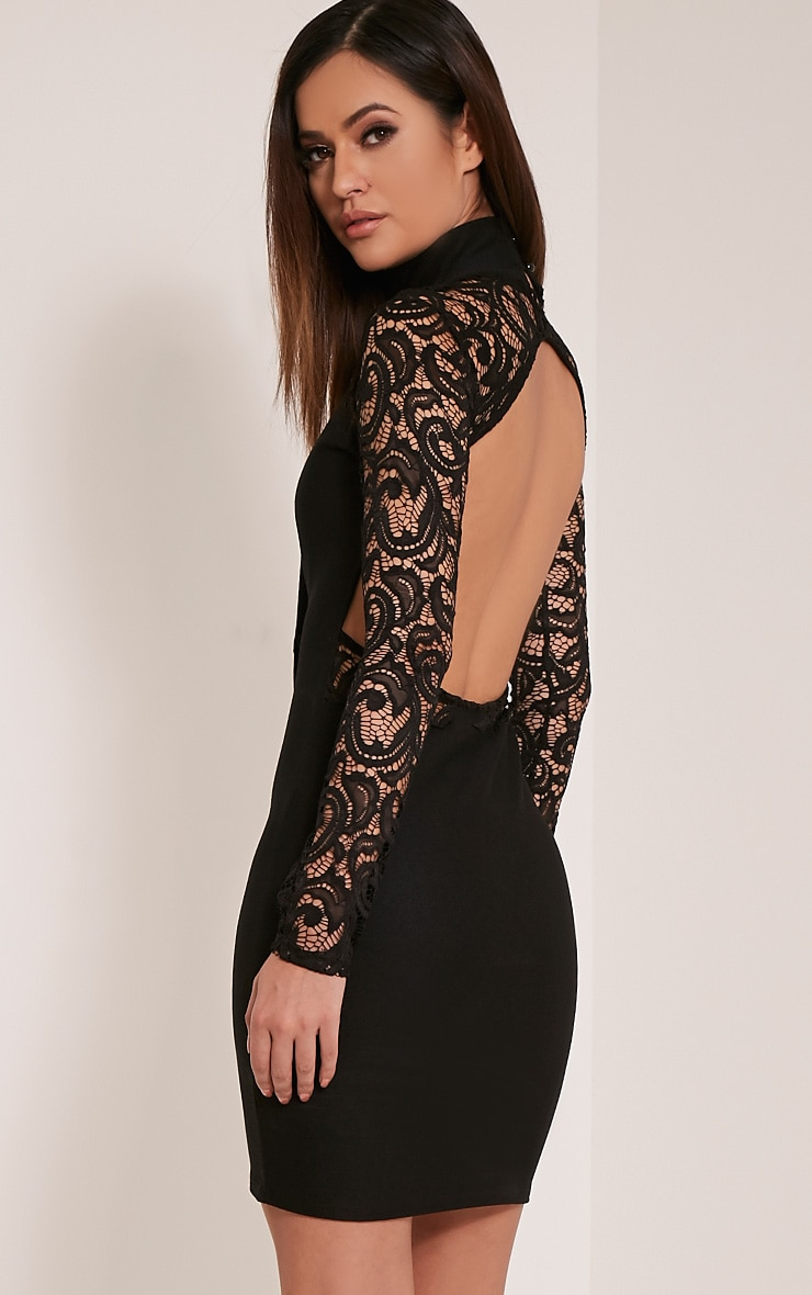 To acquire Back lace black dress pictures trends