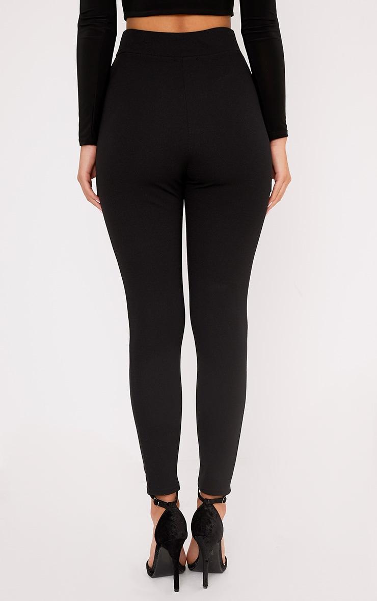 Lakesha Black Frill Waist Trousers 4
