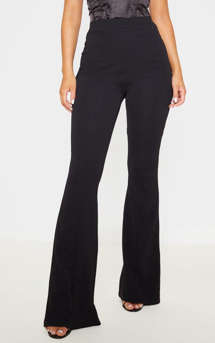 Black Flared Trouser 2