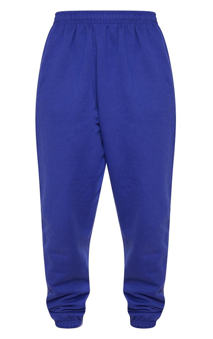 Royal Blue Casual Joggers 5