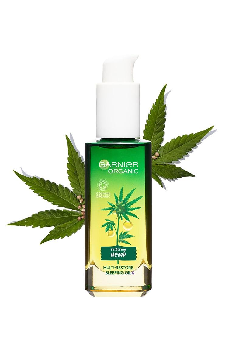 Garnier Organic Hemp Multi-Restore Facial Sleeping Oil 30ml 8