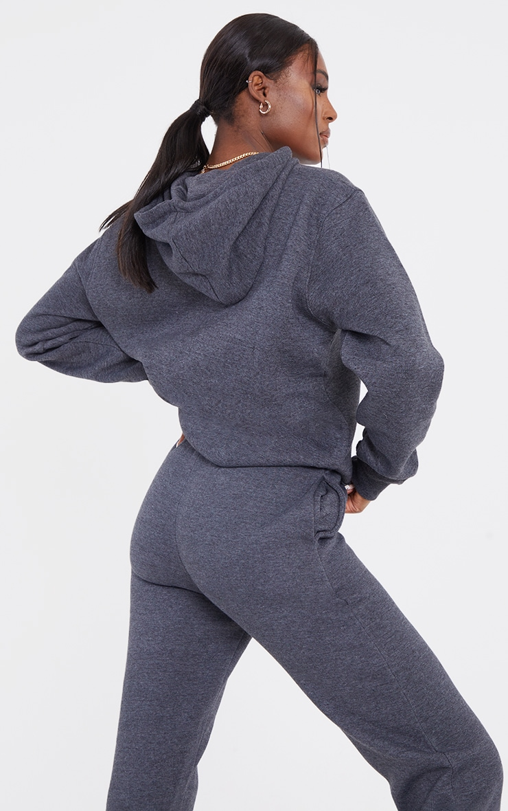Tall Charcoal Oversized Ultimate Hoodie 2