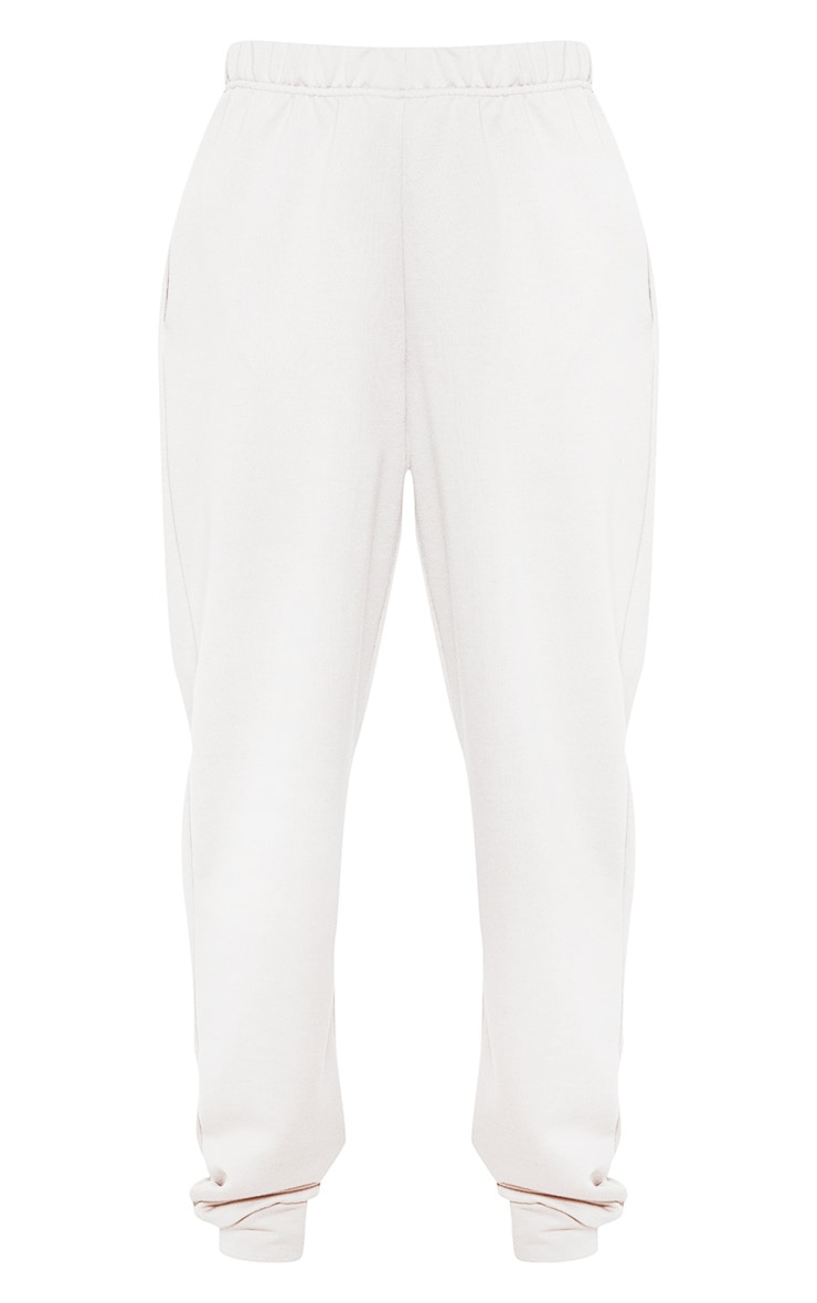 White Casual Track Pants 3