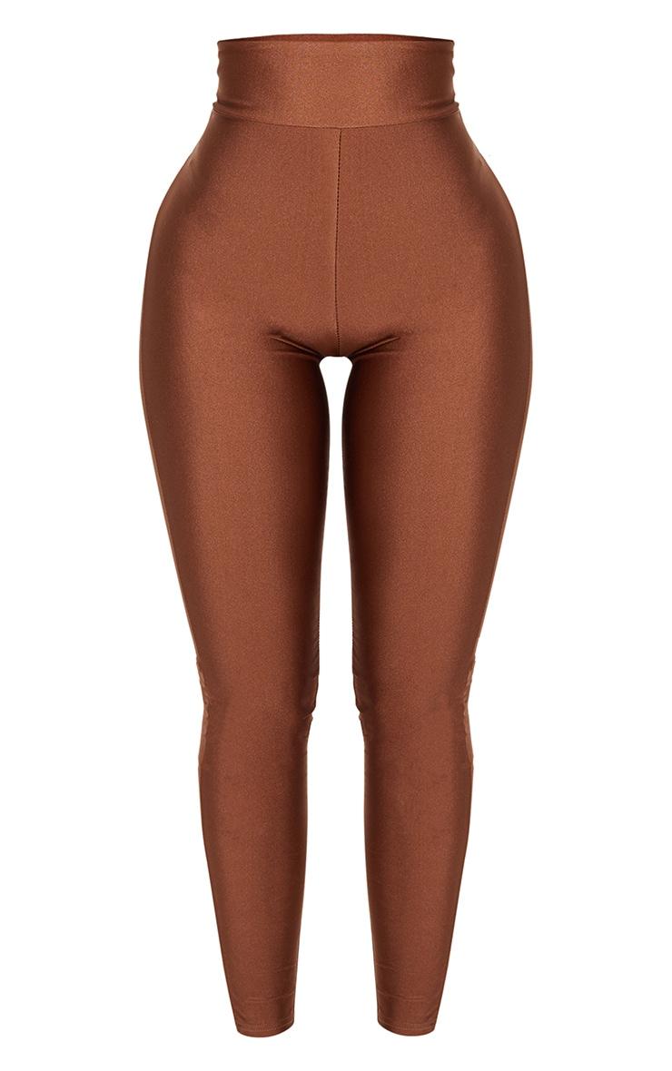 Shape Chocolate Disco Slinky Leggings 3