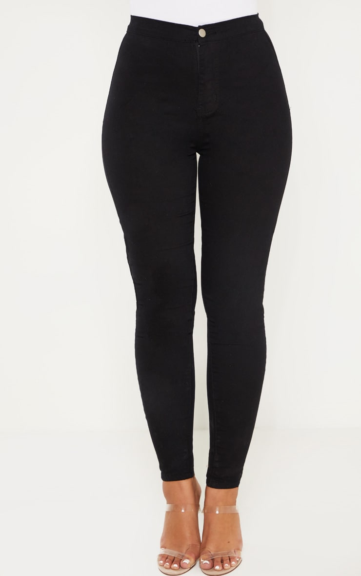Black Denim Jegging 3