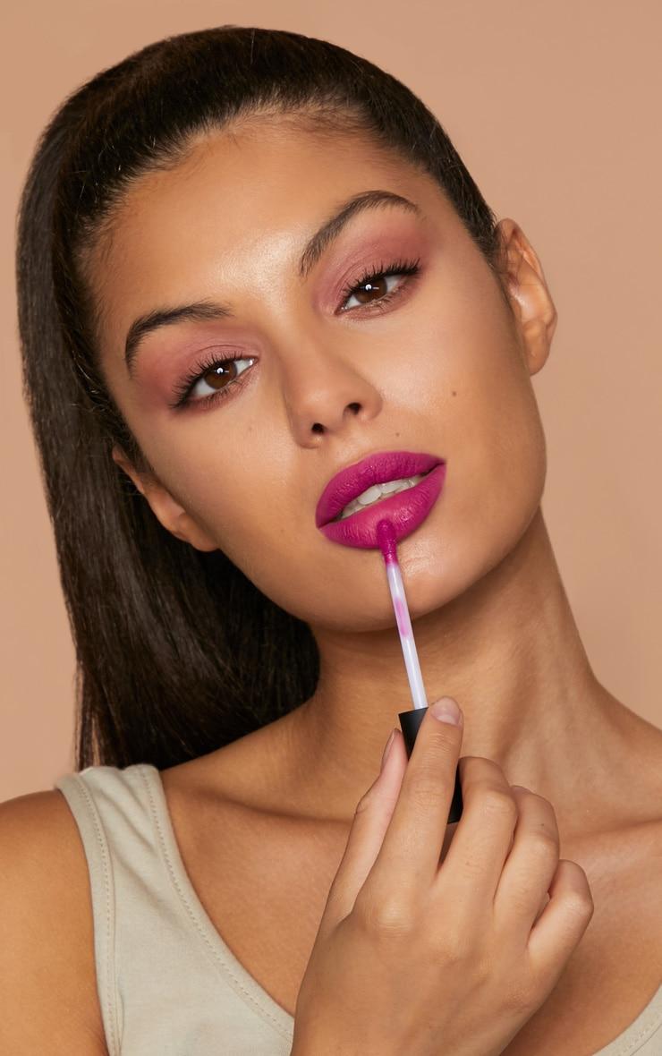 Sigma Crème de Couture Liquid Lipstick Fox Glove 2