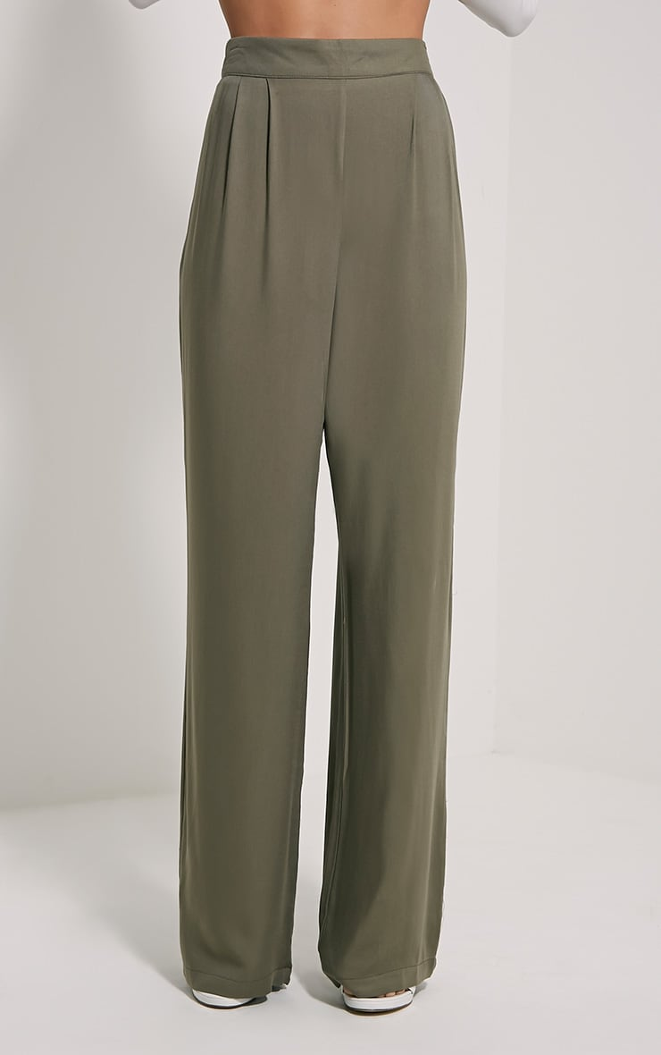 Posey Khaki Relax Fit Trousers 2