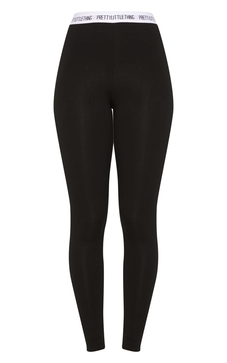 PRETTYLITTLETHING Black Leggings 3
