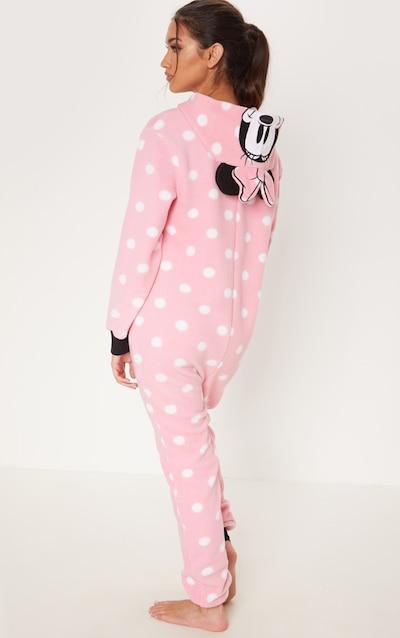 Pink Disney Minnie Mouse Polka Dot Onesie