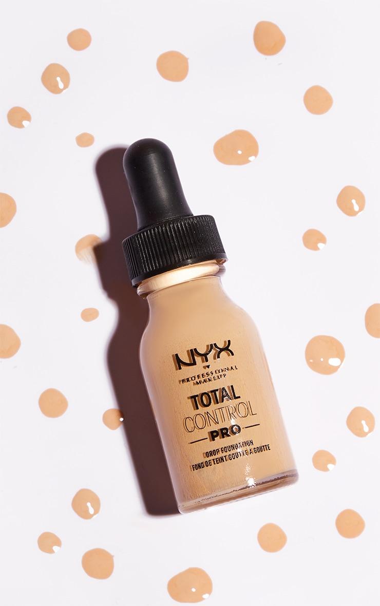 NYX PMU Total Control Pro Drop Controllable Coverage Foundation Vanilla 1
