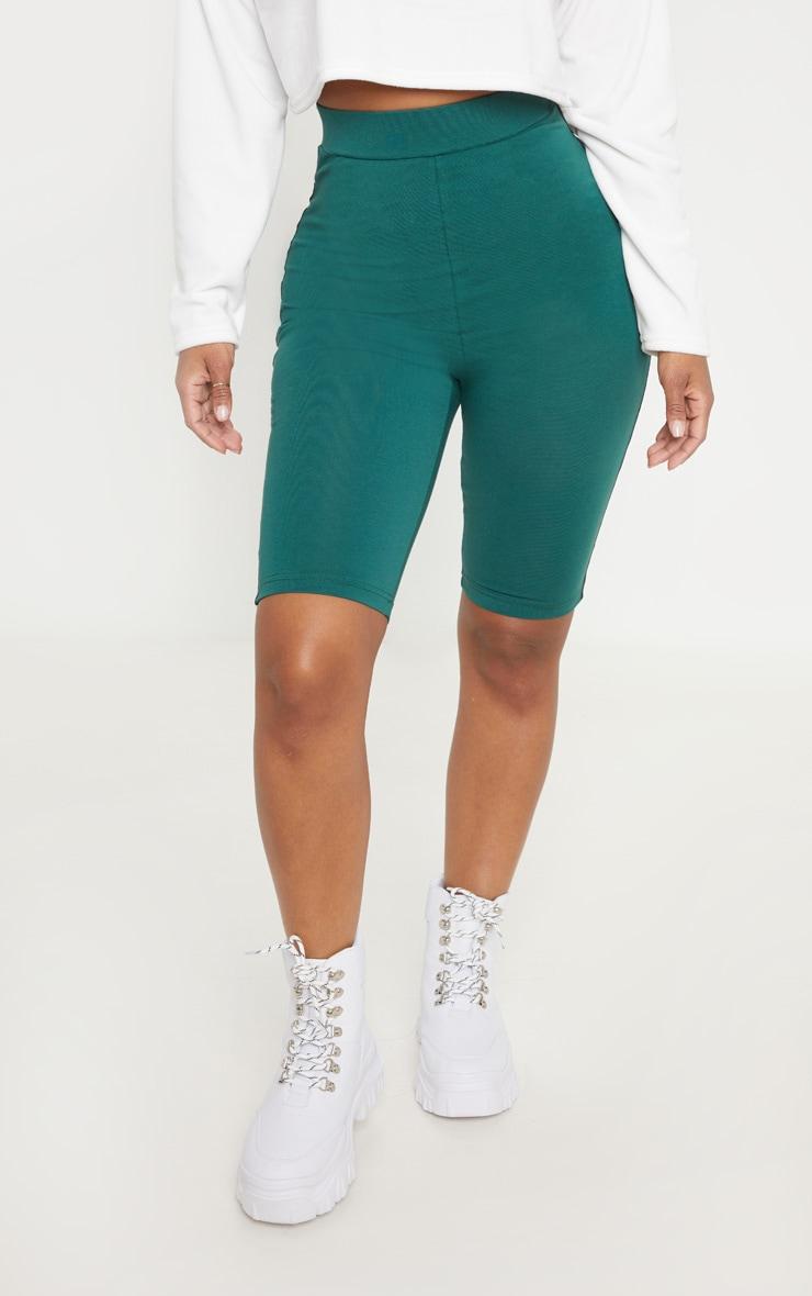 Shape - Short-legging vert émeraude à liserés réfléchissants 2