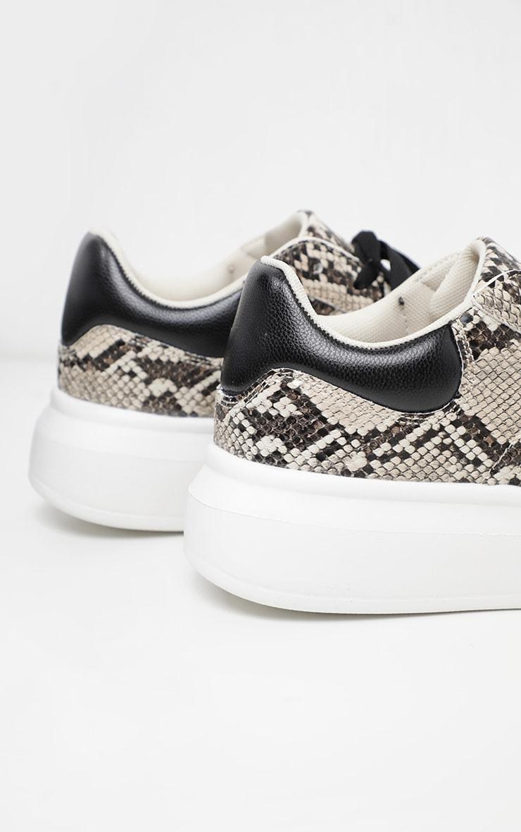Snake Sneakers 4