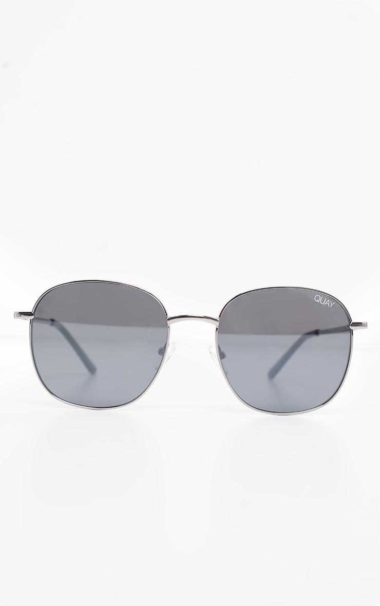 QUAY AUSTRALIA Gunmetal Jezabell Sunglasses 2