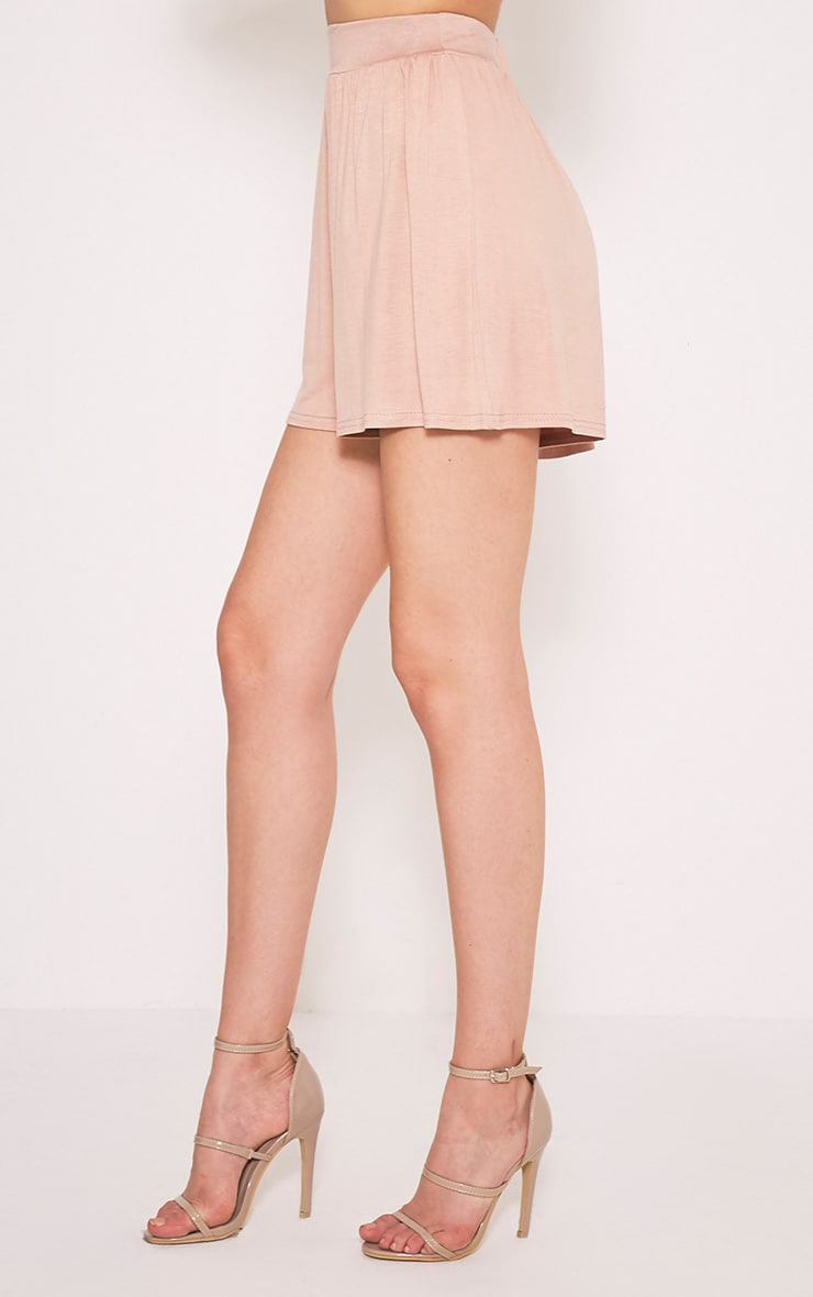 Lucilla Nude Jersey Floaty Shorts 4