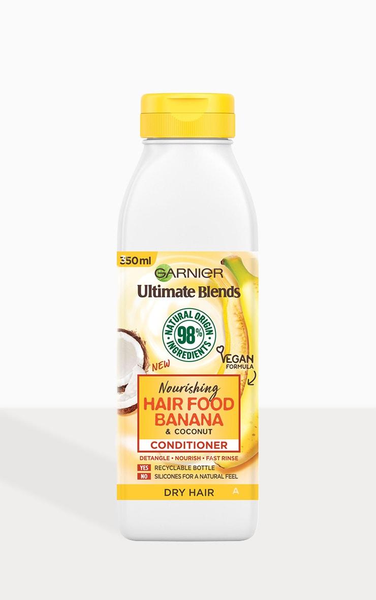 Garnier Ultimate Blends Nourishing Hair Food Banana Conditioner Dry Hair 350ml 2