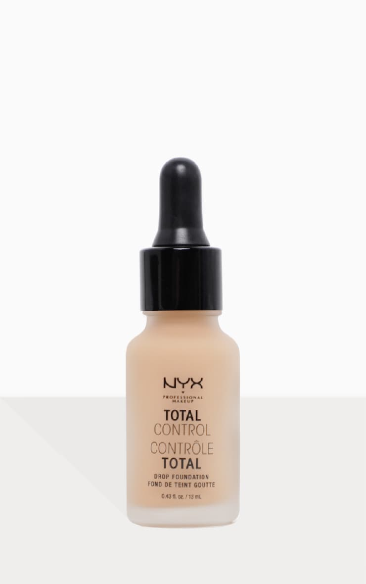 Nyx Pmu Can T Stop Won T Stop Full Coverage Foundation: Nyx Total Control Drop Foundation Classic Tan
