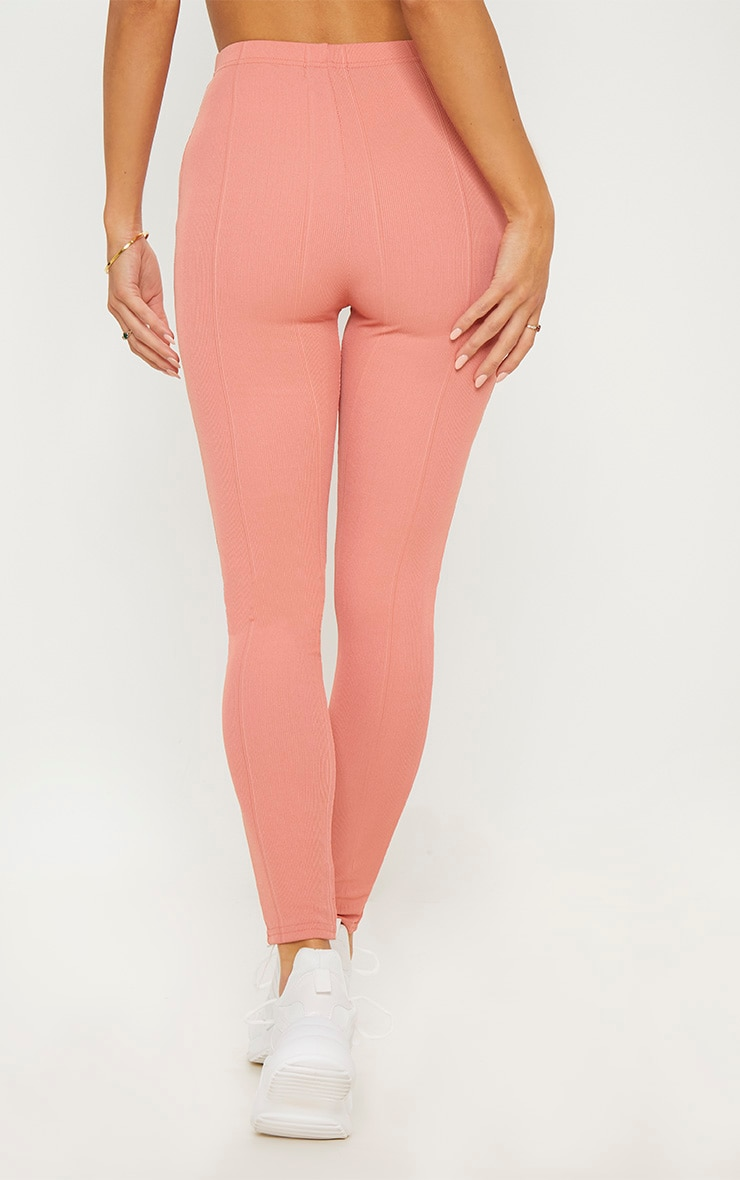 Rose High Waisted Bandage Leggings 4