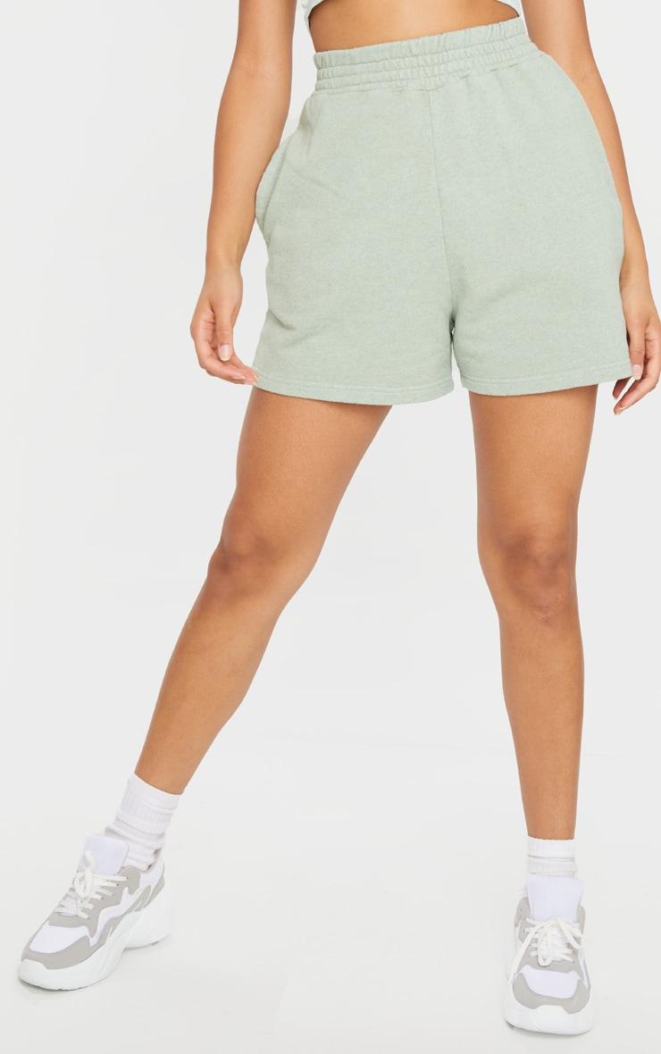 Mint Sweat Pocket Shorts 2