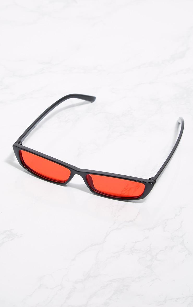 Red Lens Racer Sunglasses 3