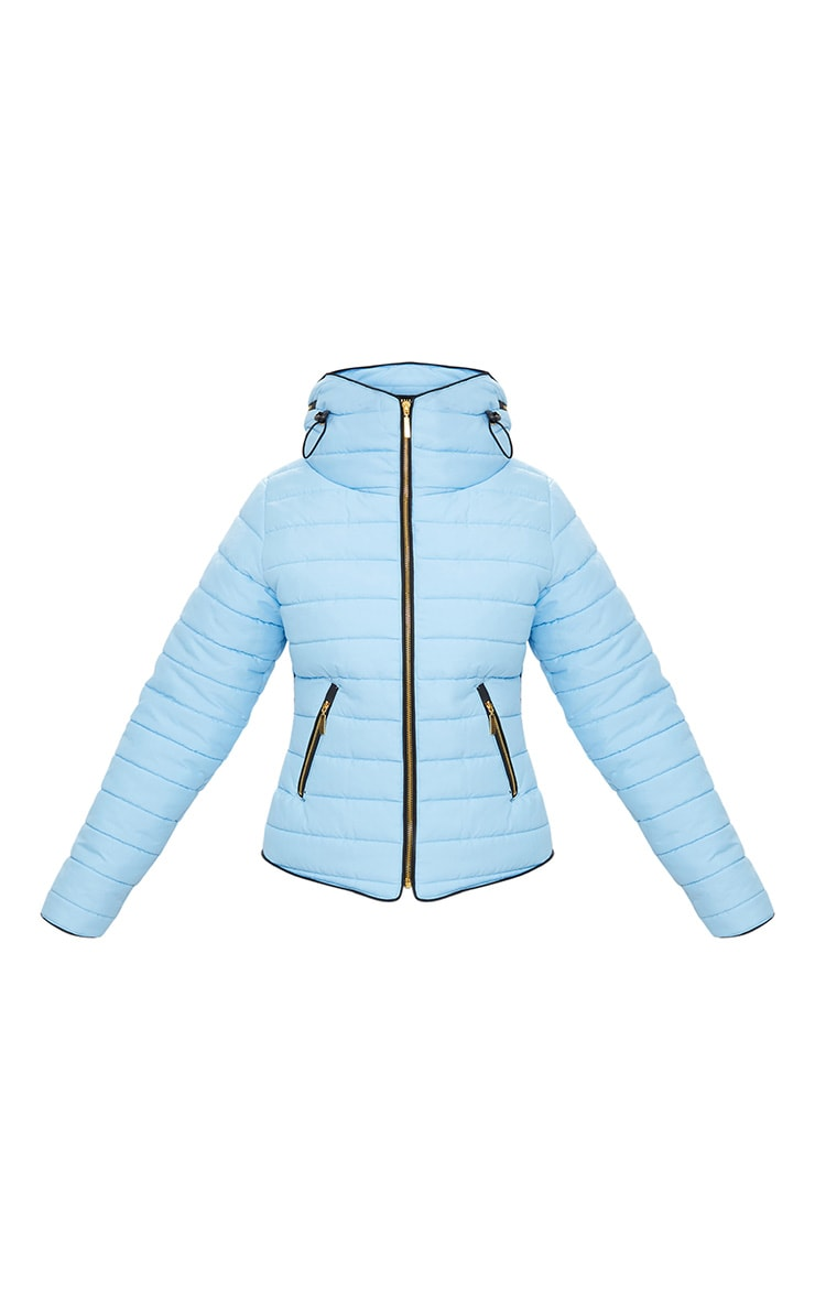 Mara Baby Blue Puffer Jacket 3