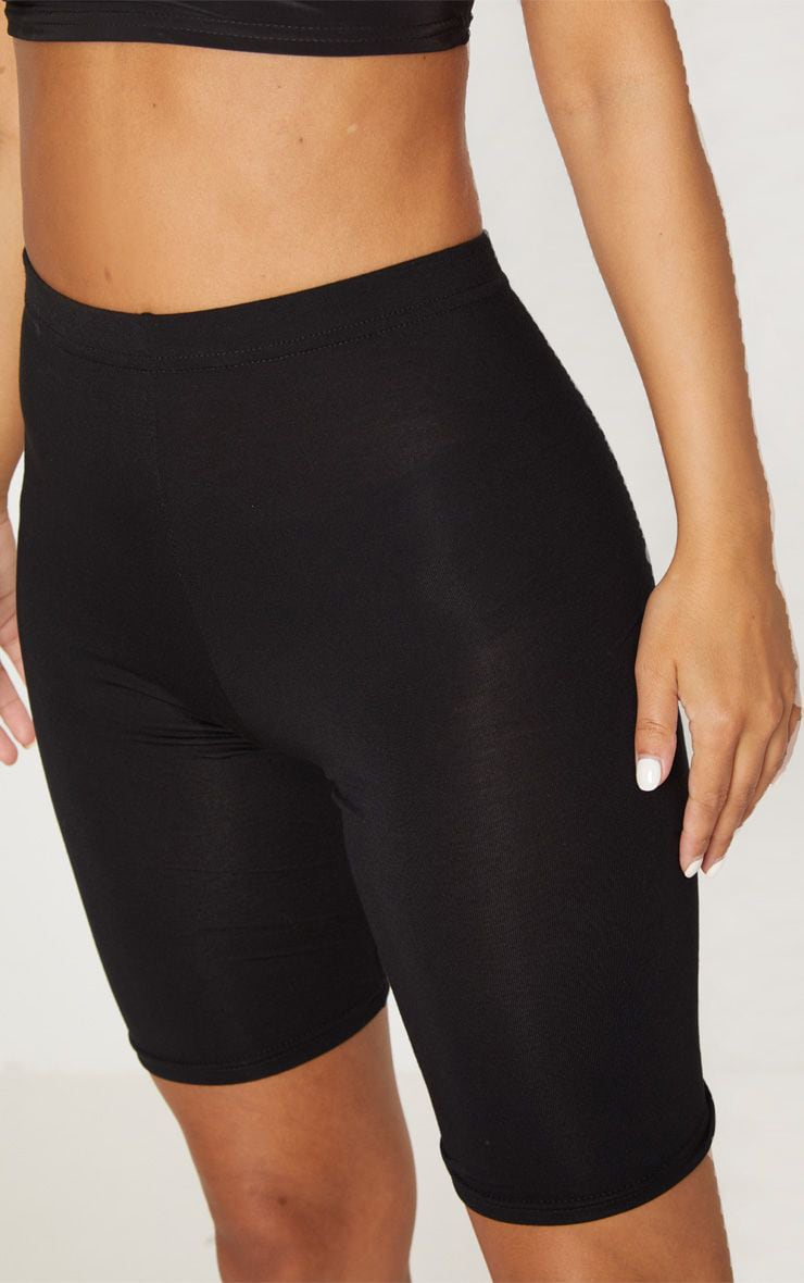 Petite Black and Grey Basic Cycle Short 2 Pack 5